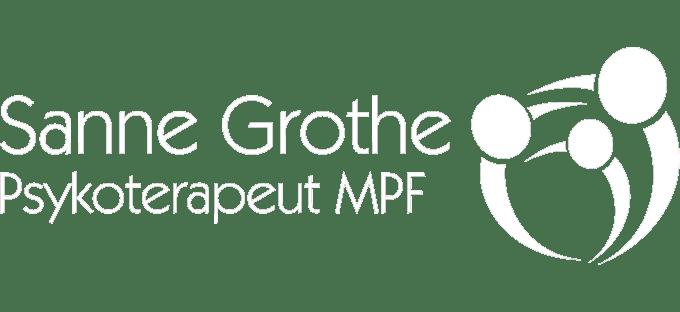 Sanne Grothe logo-white